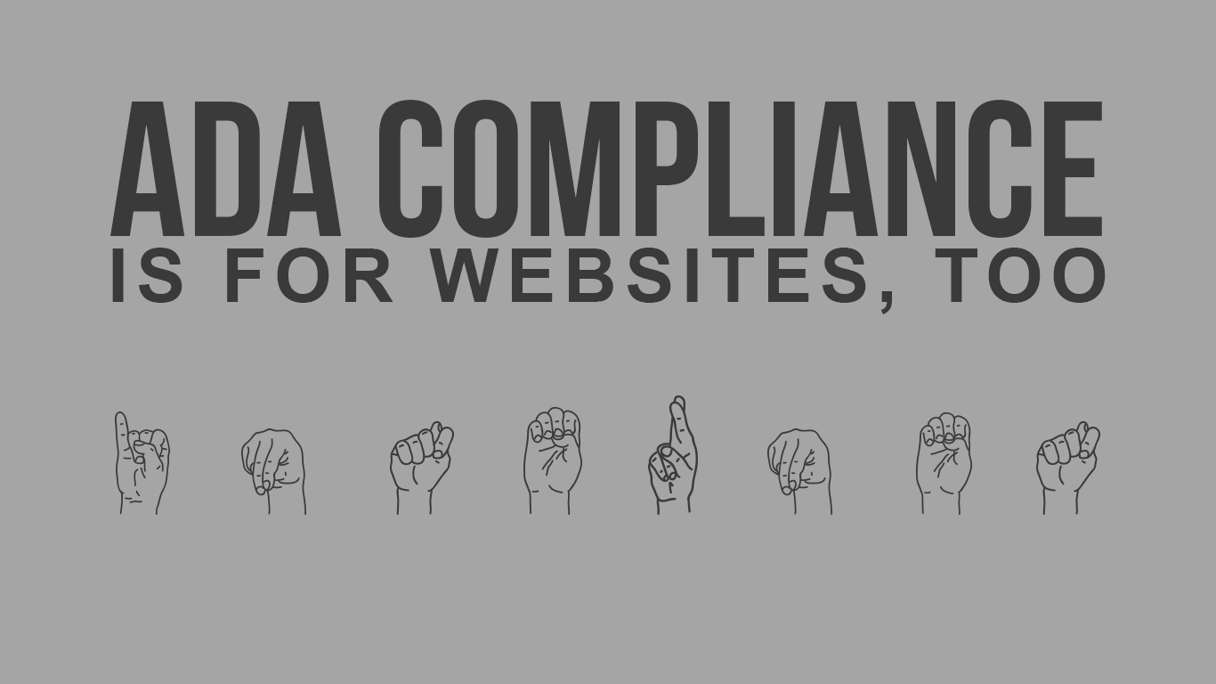 ada compliance is for websites too