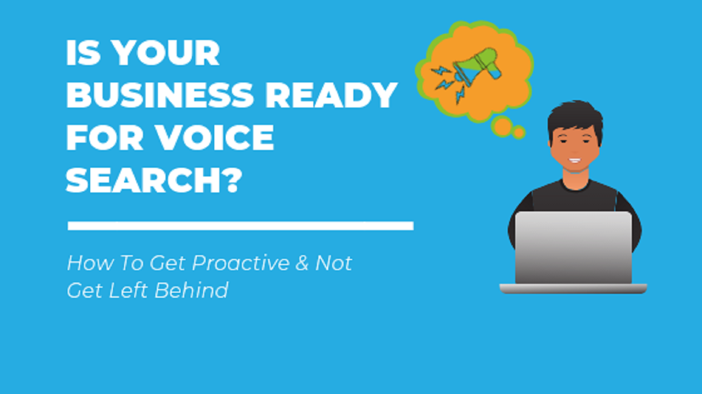 Image blog title text is your business ready for voice search