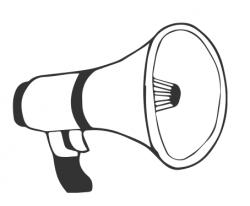 megaphone illustration
