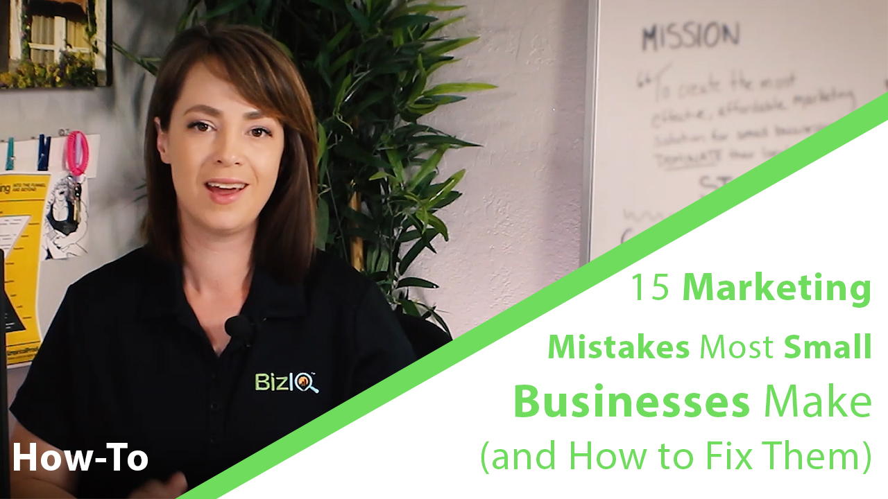 15 Marketing Mistakes Thumbnail