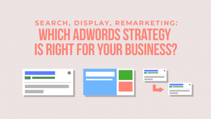 2018 4 25 Search Display Remarketing Which Adwords Strategy Is Right For Your Business Social Share