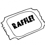 raffle ticket illustration