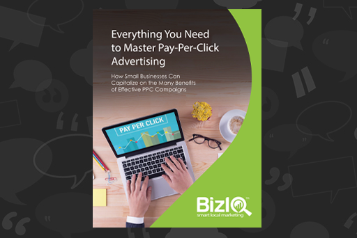 Everything You Need To Master=ppc Ebook Website Graphic