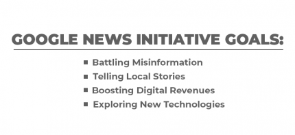 Google News Initiative Goals