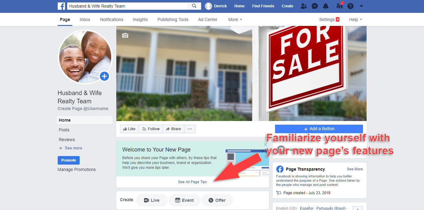 How to Make a Business Page on Facebook - See More Tips