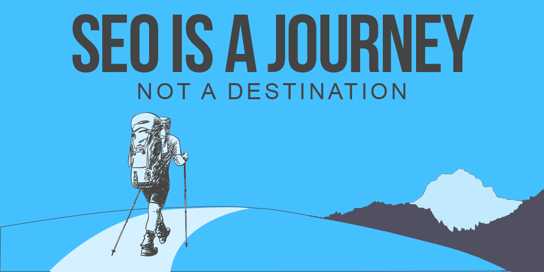 seo is a journey