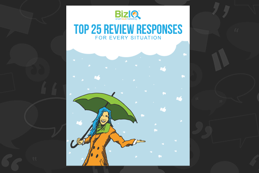 Top 25 Review Responses Ebook Website Graphic