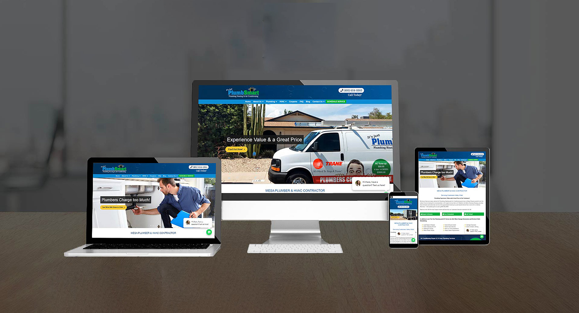 home services website