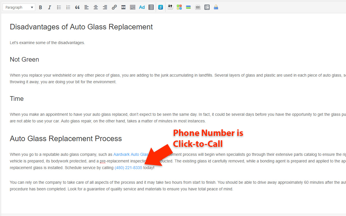 How to Make a Phone Number Clickable in WordPress - Click-to-Call Ready
