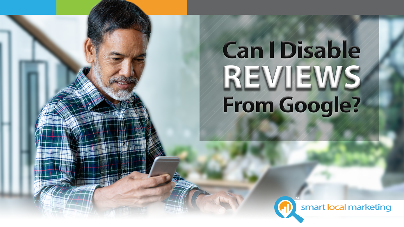 blog title graphic can I disable google reviews
