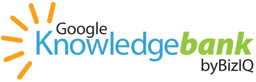 Google Knowledge Bank by BizIQ