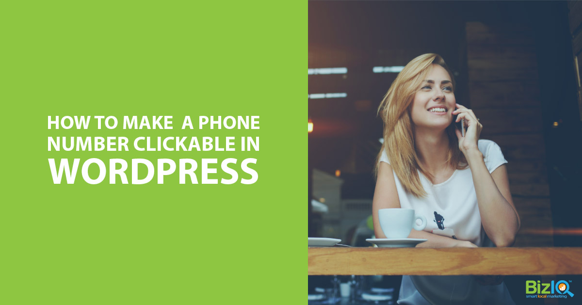 How To Make A Phone Number Clickable In Wordpress