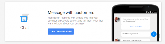 Message Customers From Google My Business