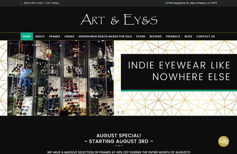 Portfolio Custom Art Eyes