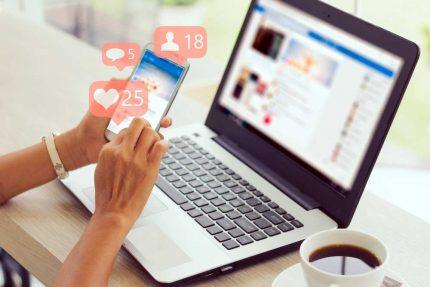 Social Media-Beiträge